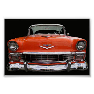 1956 CHEVY PÓSTER