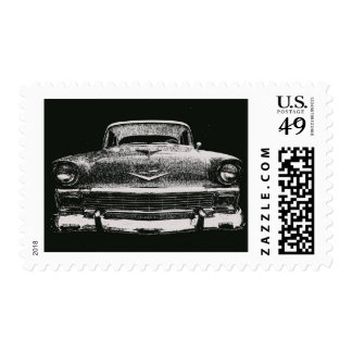 1956 CHEVY SKETCH STAMPS