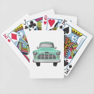 1956 Chevy truck Bicycle Playing Cards