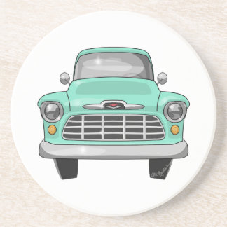 1956 Chevy truck Drink Coaster