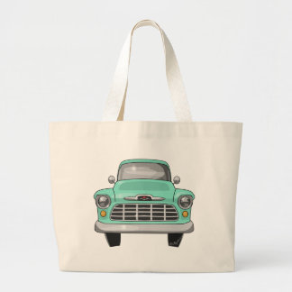 1956 Chevy truck Large Tote Bag