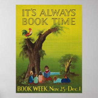 1956 Children's Book Week Poster