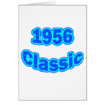 1956 Classic Blue Card
