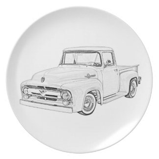 1956 Ford Truck Party Plates