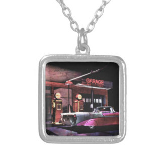 1956 Gas Station Custom Necklace