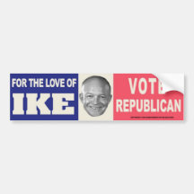 vintage VOTE FOR JOE WALSH Bumper Sticker