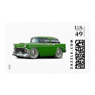 1956 Nomad Green Car Postage