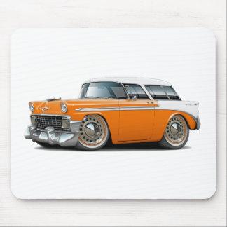 1956 Nomad Orange-White Top Car Mousepad