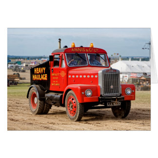 1956 Scammell 65-Tonne Heavy Haulage Tractor Card