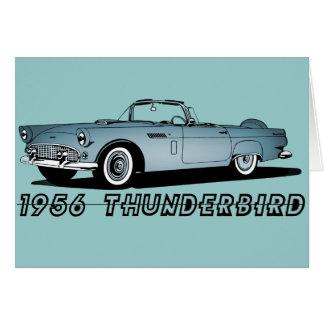 1956 Thunderbird Card