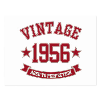 1956 Vintage Aged to Perfection Postcard