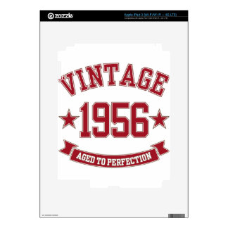 1956 Vintage Aged to Perfection iPad 3 Skins