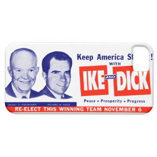 1956 Vote Ike and Dick iPhone SE/5/5s Case