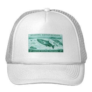 1956 Wildlife Conservation, Salmon Trucker Hat