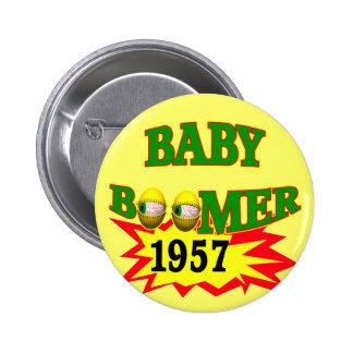 1957 Baby Boomer Button