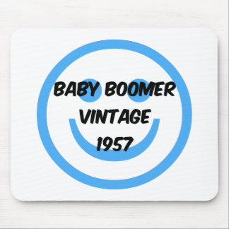1957 baby boomer mouse pad