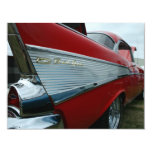 1957 Bel Air Personalized Invitations
