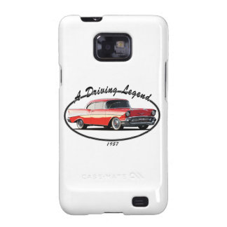 1957 BEL AIR RED GALAXY SII COVER