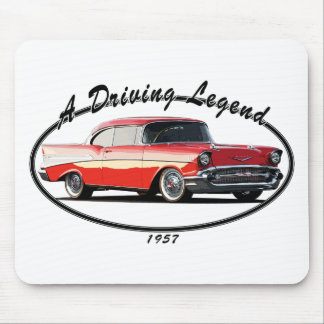 1957 BEL AIR RED MOUSE PAD