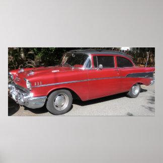1957 Chevrolet Bel-Air/210 Poster