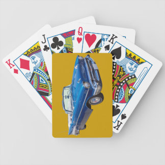 1957 Chevrolet Bel Air 2-door Convertible Bicycle Playing Cards
