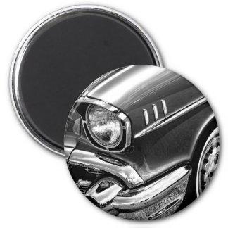 1957 Chevrolet Bel Air Black & White Magnet