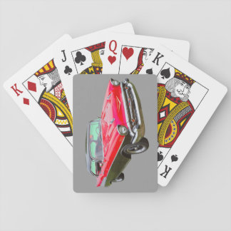 1957 Chevrolet Bel Air Classic Car Playing Cards