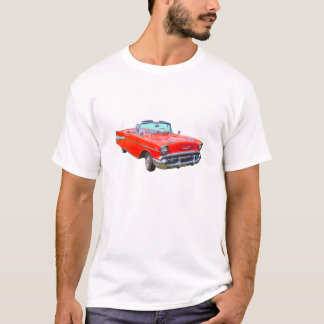 1957 Chevrolet Bel Air Convertible Antique Car T-Shirt