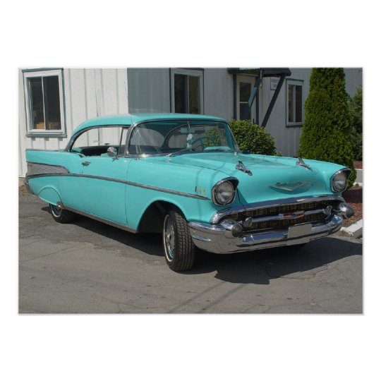 1957 Chevrolet Bel-Air Poster