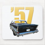 1957 Chevrolet Bel Aire Rear View Mouse Pad