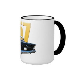 1957 Chevrolet Bel Aire Rear View Mugs