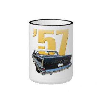 1957 Chevrolet Bel Aire Rear View Ringer Mug