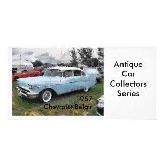 1957 Chevrolet Belair Photo Card