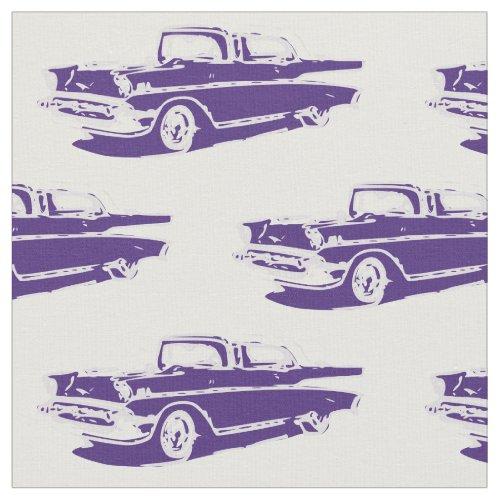 1957 Chevrolet Classic Car Fabric