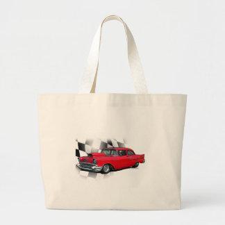1957 Chevrolet Dragster Tote Bag
