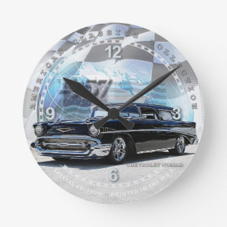 1957 Chevrolet Nomad Decorative Wall Clock