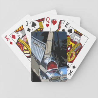 1957 Chevrolet tail light playing cards