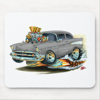 1957 Chevy 150-210 Grey Car Mouse Pad