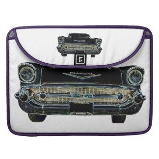 """1957 Chevy Bel Air 15"""" MacBook Pro Sleeve"""
