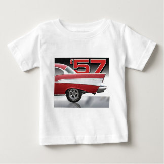 1957 Chevy Bel Air Baby T-Shirt