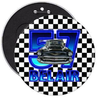 1957 Chevy Bel Air Button. Button