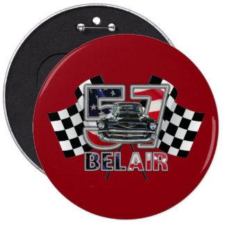 1957 Chevy Bel Air Button. Pinback Button