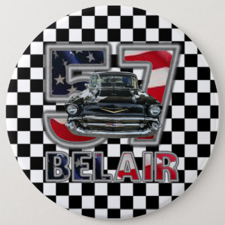 1957 Chevy Bel Air Button. Pinback Button