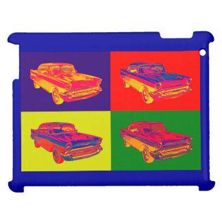 1957 Chevy Bel Air Car Pop Art iPad Covers