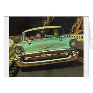 1957 Chevy Bel Air Card