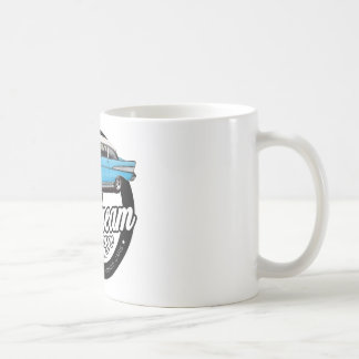 1957 Chevy Bel Air Garage Logo Coffee Mug