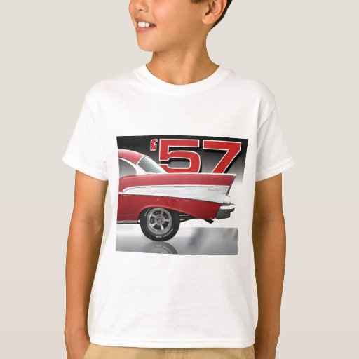 1957 chevy bel air t shirt zazzle. Black Bedroom Furniture Sets. Home Design Ideas