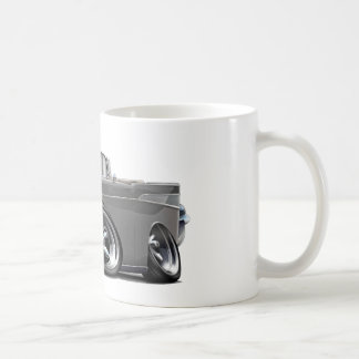 1957 Chevy Belair Grey Convertible Hot Rod Coffee Mugs