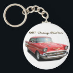 "1957 Chevy BelAir Key Chain<br><div class=""desc"">A key chain to go with your dream car.</div>"