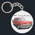 "1957 Chevy BelAir Key Chain<br><div class=""desc"">A key chain to go with your dream car.</div>"